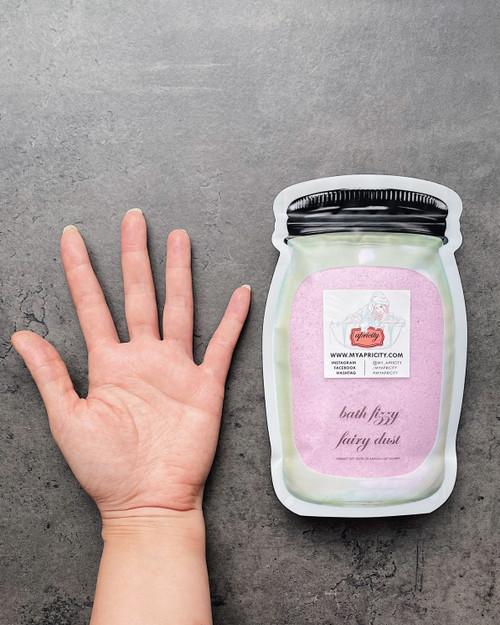 JAR BAG  | bath fizzy fairy dust