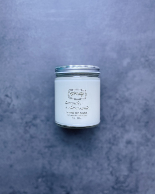 LAVENDER + CHAMOMILE (standard) | luxe scented soy candle