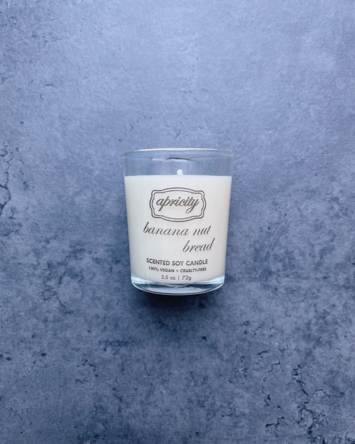 BANANA NUT BREAD  (mini) | luxe scented soy candle
