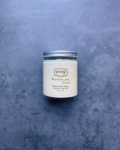 BANANA NUT BREAD (standard) | luxe scented soy candle