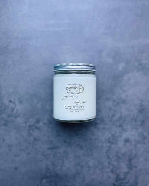 JASMINE + CYPRESS (standard) | luxe scented soy candle