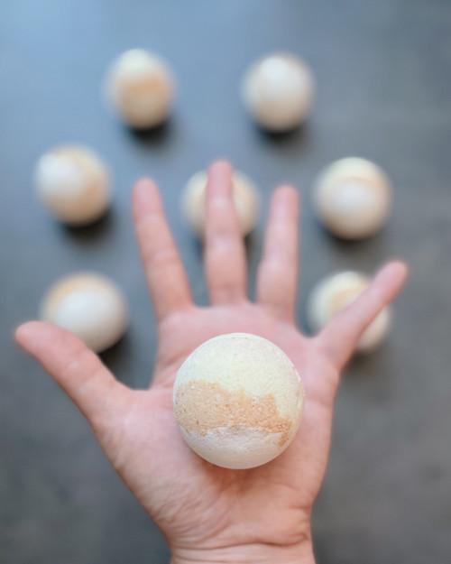 BUTTERSCOTCH LATTE  | mini bath bomb