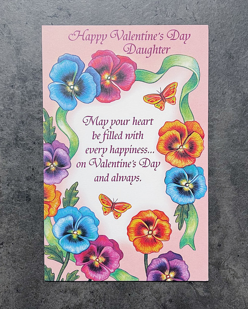 Daughter...   VALENTINE'S DAY CARD