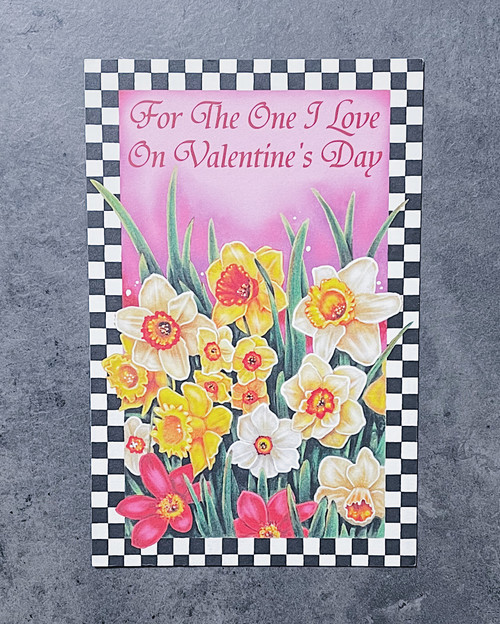 For The One I... | VALENTINE'S DAY CARD