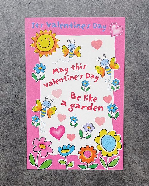 Be like a garden | VALENTINE'S DAY CARD