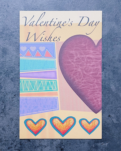 Val...Wishes | VALENTINE'S DAY CARD