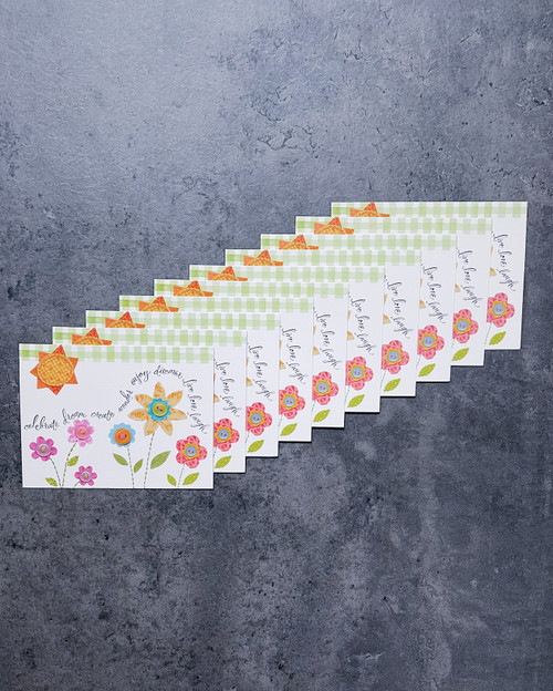 Celebrate... (10-count) | NOTE CARDS + WHITE ENVELOPES