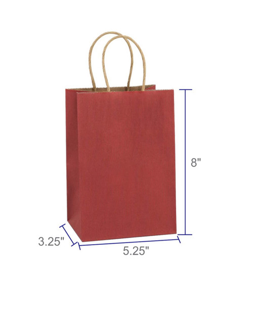 RED | paper gift bag