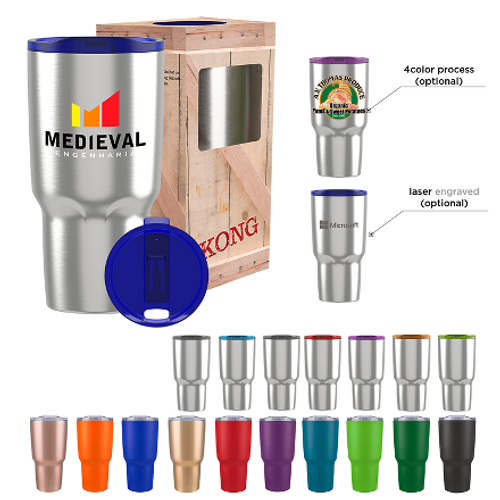 Choose from 18 tumbler/lid combinations