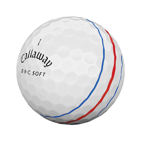 GOLF BALL INCLUDES TRIPLE TRACK LINES