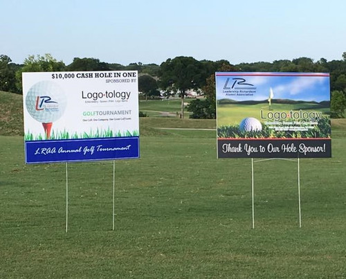 18 x 24 Full Color Sponsor Sign