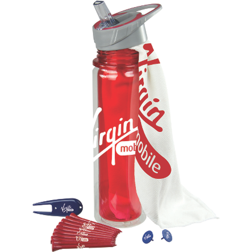 Hydrate Bottle Golf Kit