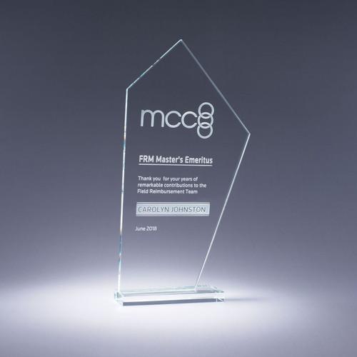 Altitude Starphire Crystal Award