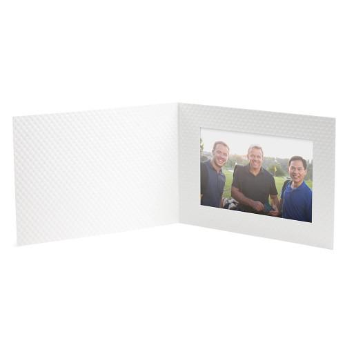 Golf Ball Texture Photo Folder - Single Landscape 4 x 6