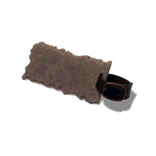 Chiseled Bag Tag - Granite, Marble or Stone