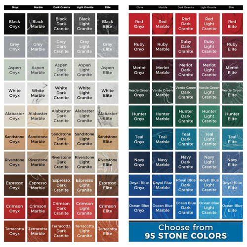 95 Color Options