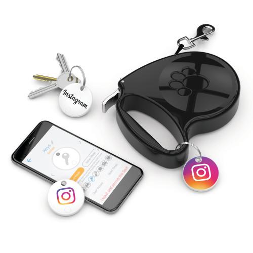 Two-Way Bluetooth Key Finder