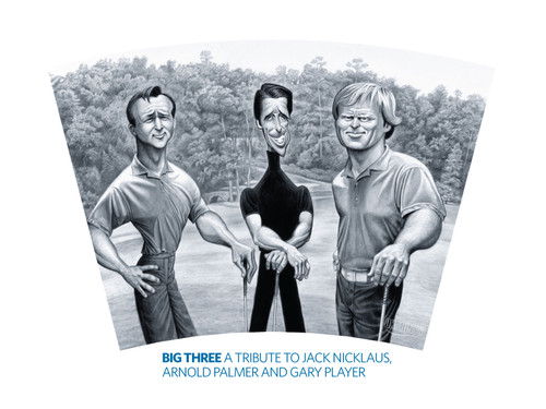 The Big Three: A Tribute to Palmer, Player & Nicklaus Wrap