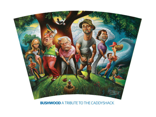 Caddyshack Tribute Wrap
