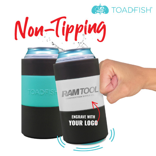 Toadfish Non-Tipping Can Cooler (Standard 12 oz)