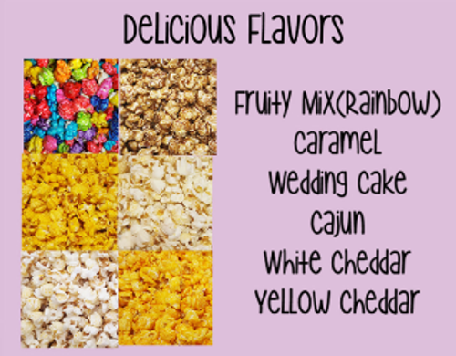 Choose from Six Flavors