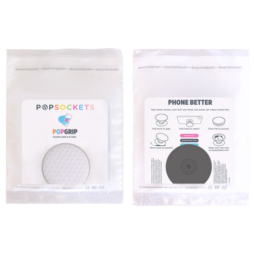 Golf Ball PopGrip by PopSockets (One Color Imprint)