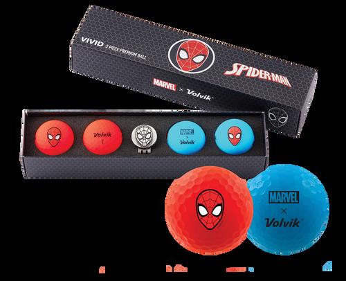 Spider-Man Marvel x Volvik Golf Pack
