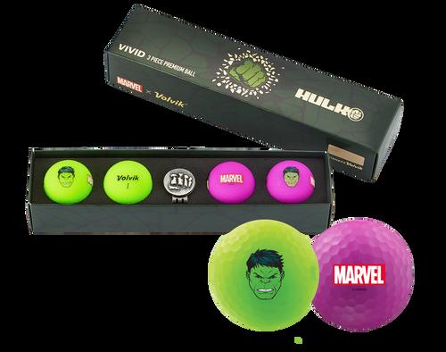 The Hulk Marvel x Volvik Golf Pack