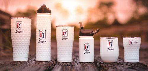 lil SIC 12 oz. Dimpled Golf® Bottle