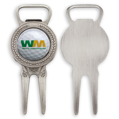 Divot Tool w/ Magnetic Ball Marker & Bottle Opener