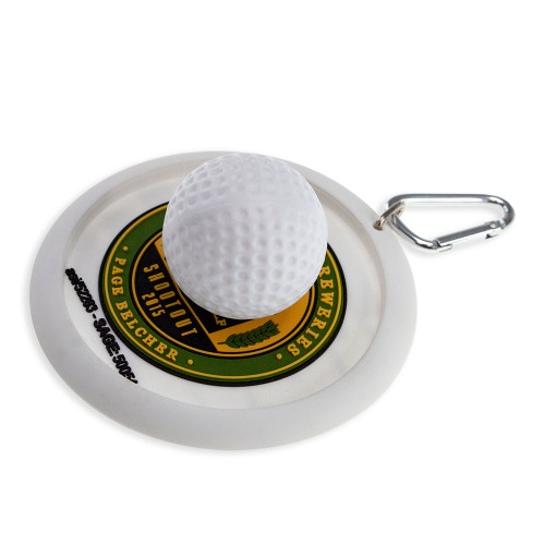 Use as a putting target