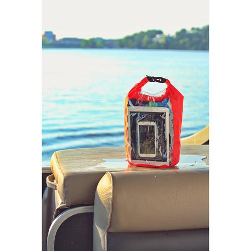 10-Liter Waterproof Gear Bag Touch-Thru Pouch