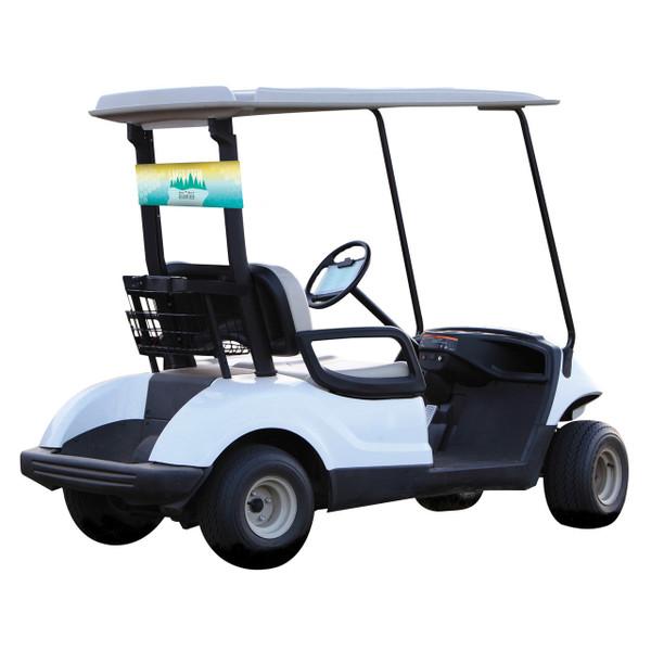 Golf Cart Neoprene Banner