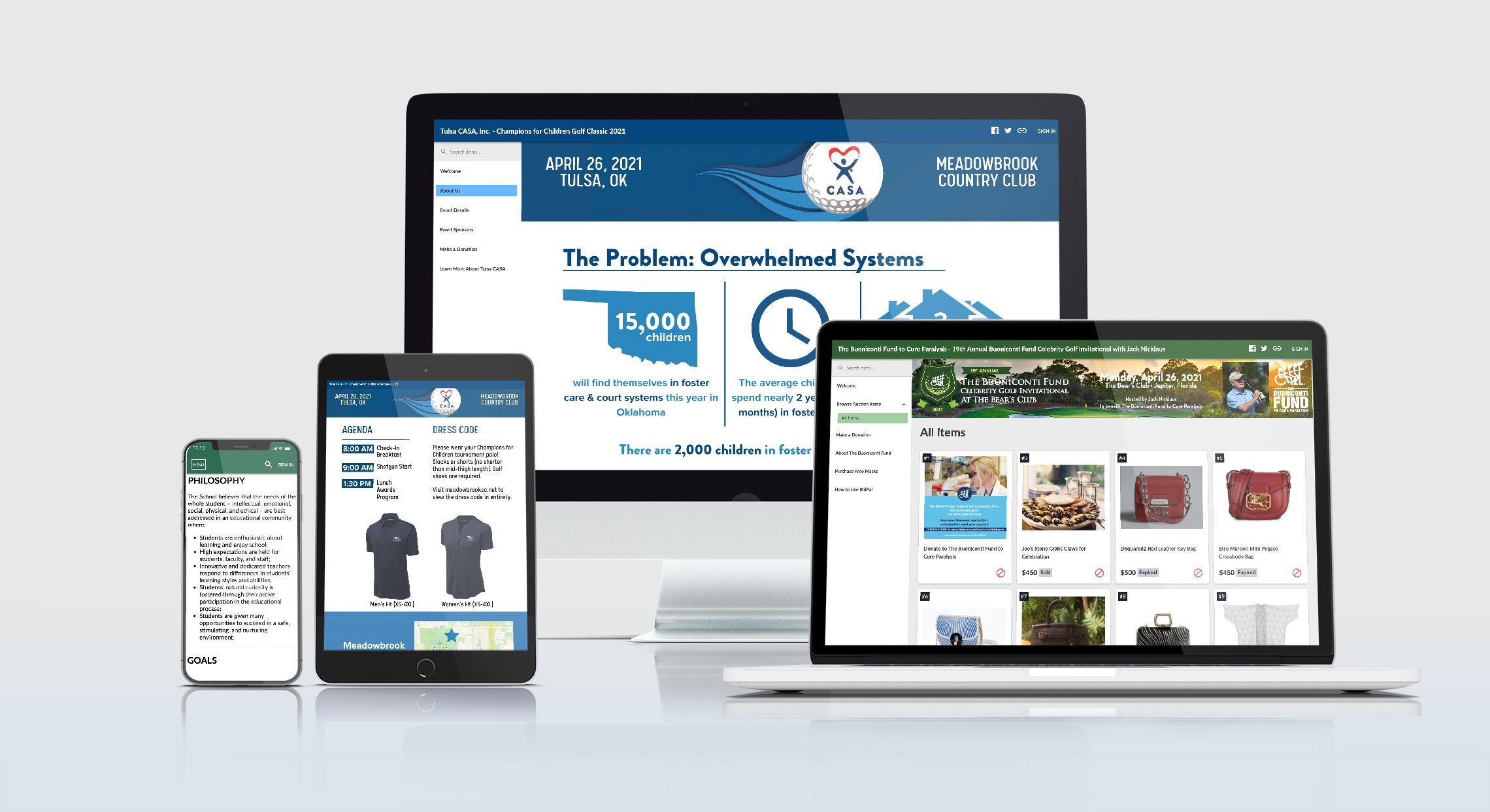 OneCause Virtual Fundraising Tools