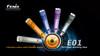 Fenix E01 LED Flashlight (Purple)