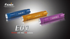 Fenix E01 LED Flashlight Colors