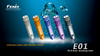 Fenix E01 LED Flashlight In Water