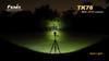 Fenix TK76 LED Flashlight LED Outside
