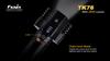 Fenix TK76 LED Flashlight LED Output Display