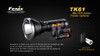 Fenix TK61 LED Flashlight Battery Options