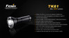 Fenix TK61 LED Flashlight Specs