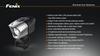 Fenix BTR20 Rechargeable LED Bike Light Specs
