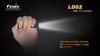 Fenix LD02 LED Flashlight On