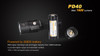 Fenix PD40 LED Flashlight Battery Information