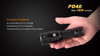 Fenix PD40 LED Flashlight Compact Footprint