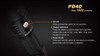 Fenix PD40 LED Flashlight Button Features