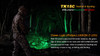 Fenix TK15C Multi-Color LED Flashlight Green LED