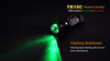 Fenix TK15C Multi-Color LED Flashlight Flashing LED