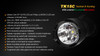 Fenix TK15C Multi-Color LED Flashlight Specs