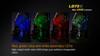 Fenix LD75C Multi-Color LED Flashlight Colors